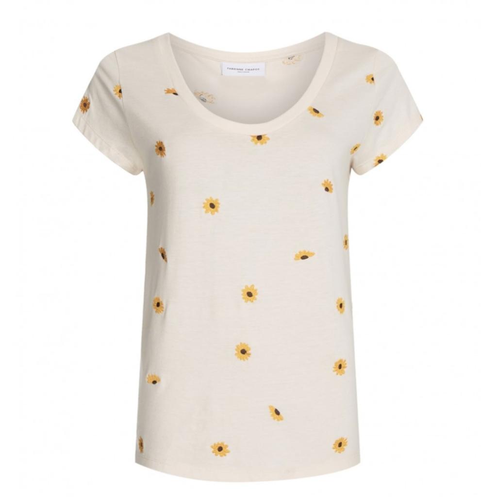 Fabienne Chapot Fabienne Chapot T-shirt Kris Lou Embro Sunny Flowers