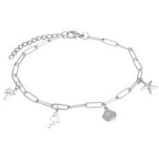 iXXXi Jewelry iXXXi enkelbandje met Bedels Stanless Steel