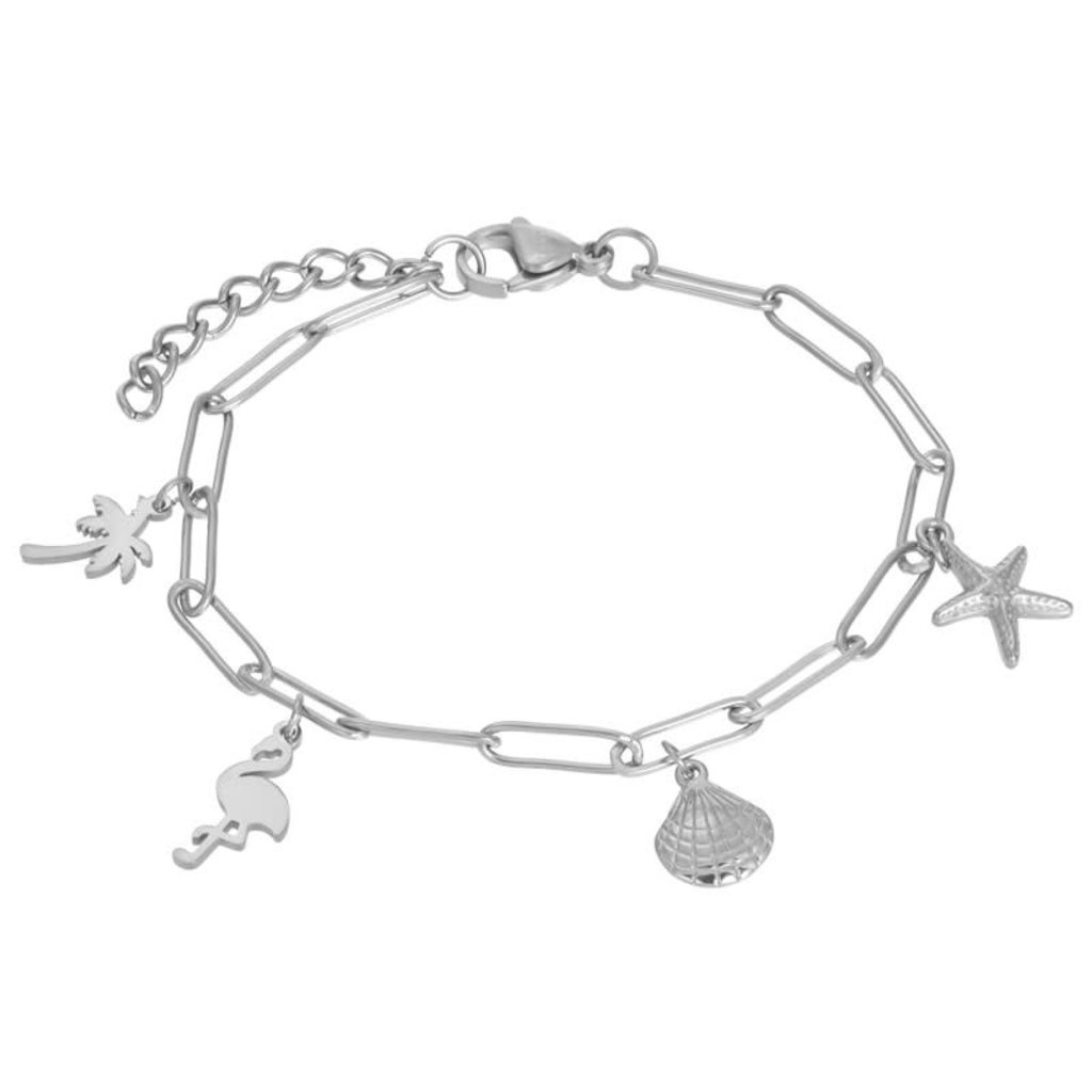 iXXXi Jewelry iXXXi armband met bedels Stainless Steel