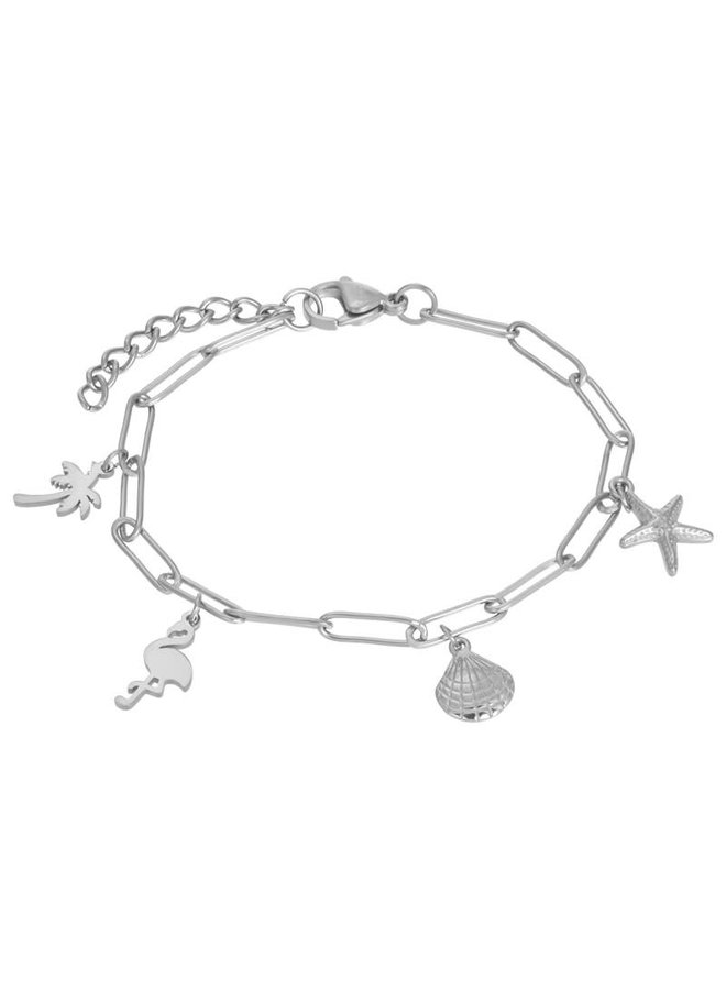 iXXXi armband met bedels Stainless Steel