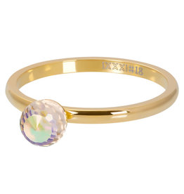 iXXXi Jewelry iXXXi vulring Crystal Glass Ball AB Gold Plated