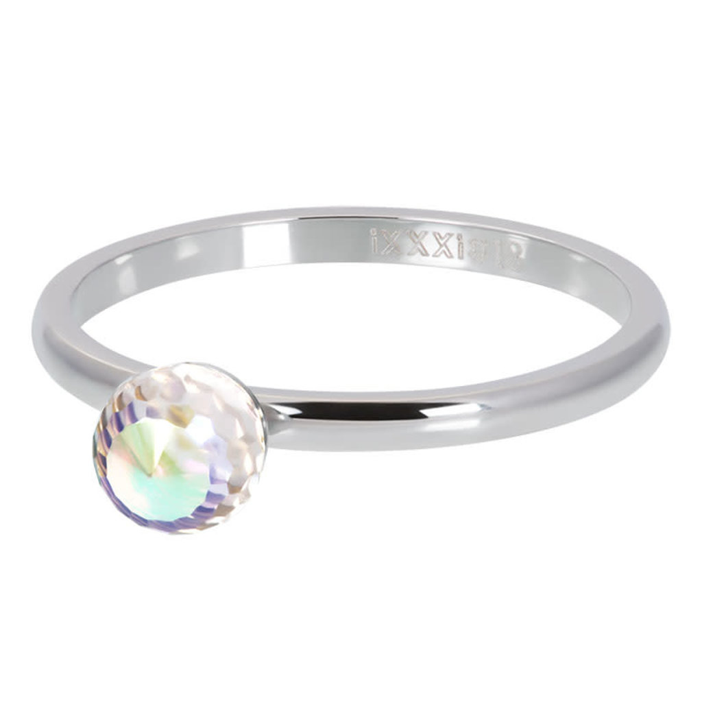 iXXXi Jewelry iXXXi vulring 2mm Crystal Glass Ball AB Stainless Steel