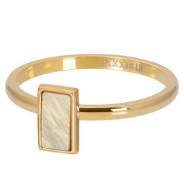 iXXXi Jewelry ixxxi vulring 2mm Yellow Shell Stone Gold Plated