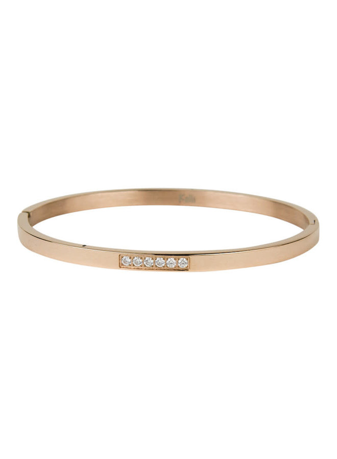 Kalli armband Six Crystals Row - 2140R 4mm