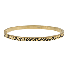 Kalli Kalli Bangle Zebra - 2163G 4mm