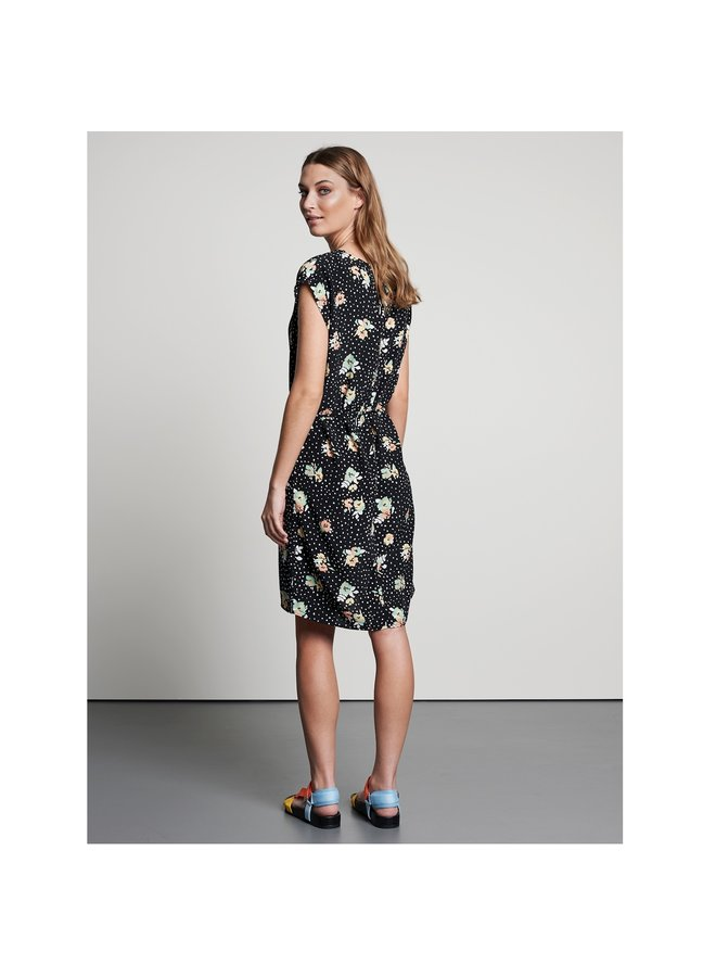Catwalk Junkie jurk Wonderland Midi Black