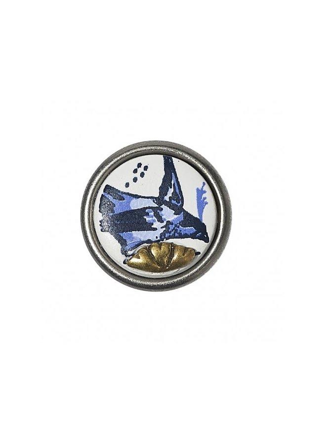 Noosa Chunk Petite 18.04 Delft Blue Kakiemon