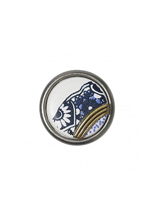 Noosa Chunk Petite 18.02 Delft Blue Faience