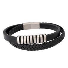 iXXXi Jewelry iXXXi Men Leren armband Wyatt
