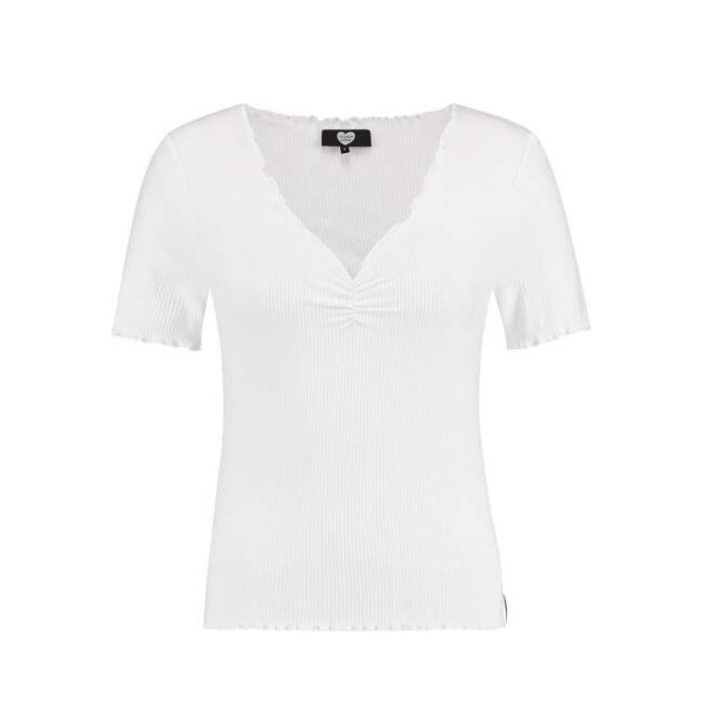 Catwalk Junkie Catwalk Junkie T-shirt Bella Off White