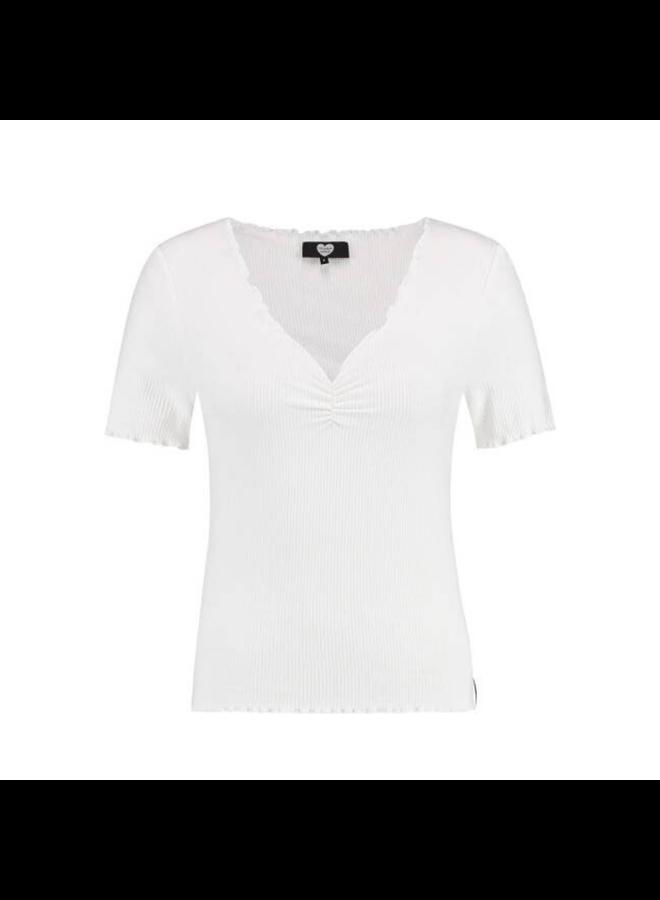 Catwalk Junkie T-shirt Bella Off White