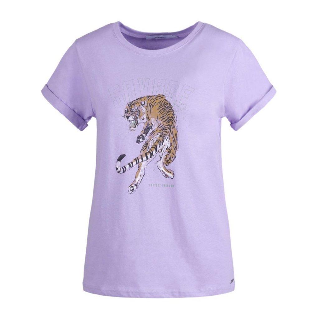 Ambika Ambika T-shirt Savage Lila Panther