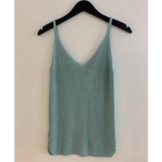 Ambika Ambika top Lurex Jade One Size