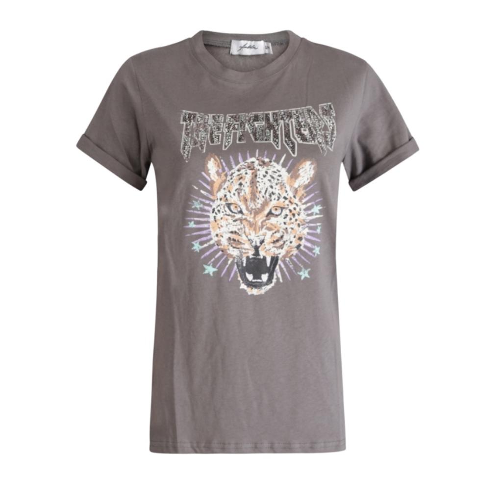 Ambika Ambika T-shirt The Fighters Grey