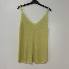 Ambika Ambika top Lurex Yellow One Size