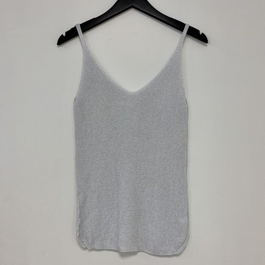Ambika Ambika top Lurex L.Grey One Size