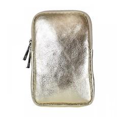 Baggyshop Baggyshop tas Call Me Up Leather Goud Metallic/Zilver