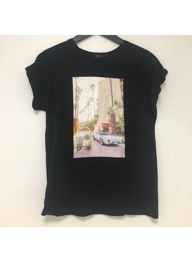 Rebelz T-shirt Kaylin Zwart
