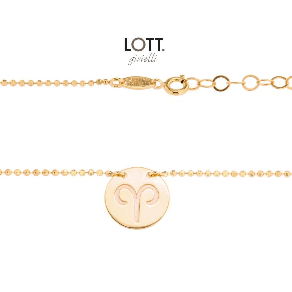 LOTT. Gioielli LOTT. Zodiac Collection armband Ram Large