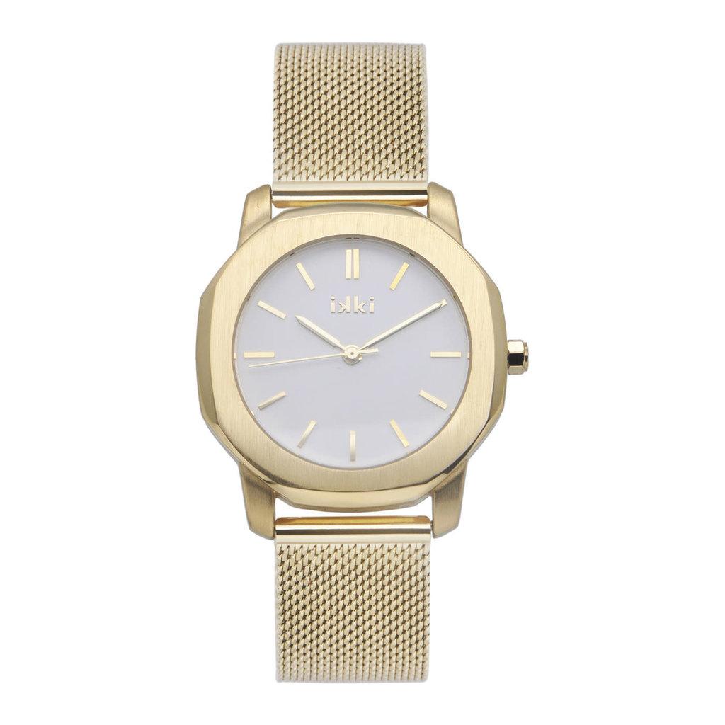 IKKI IKKI horloge Virgil VR10 Gold/White