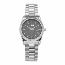 IKKI IKKI horloge Bronx BX02 Silver/Dark Grey