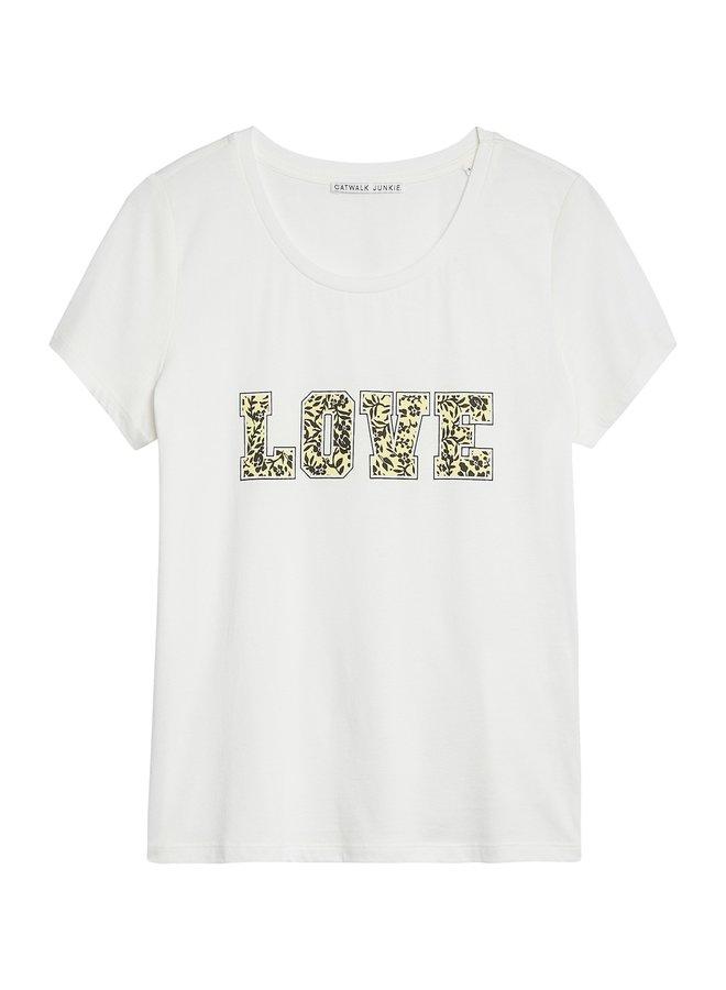 Catwalk Junkie T-shirt Sonny Off White