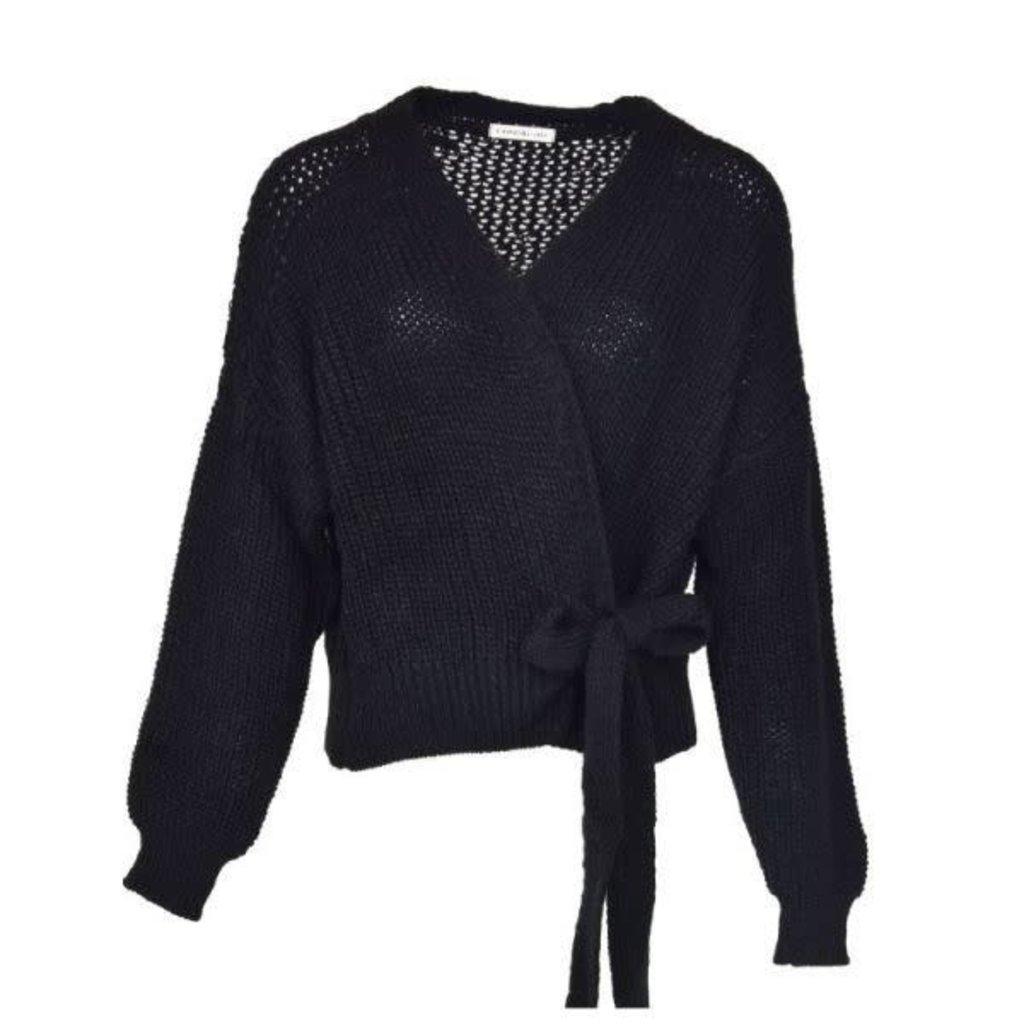 Typical Jill Wikkel/knoop vest Pia Zwart One Size