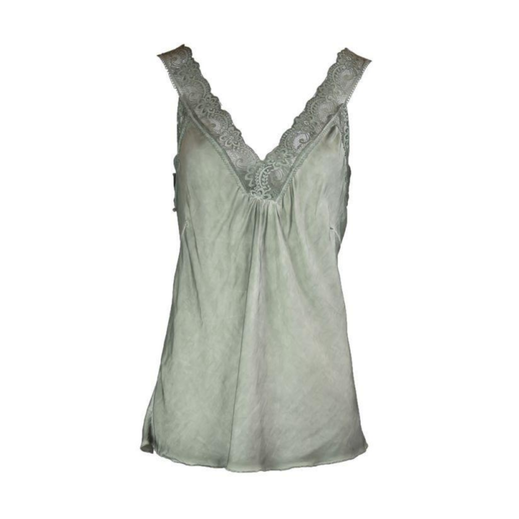 Typical Jill top Marion Lace Olive