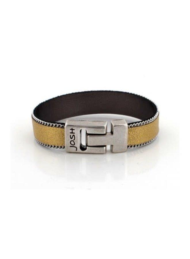 Josh armband 18225 Gold/Silver