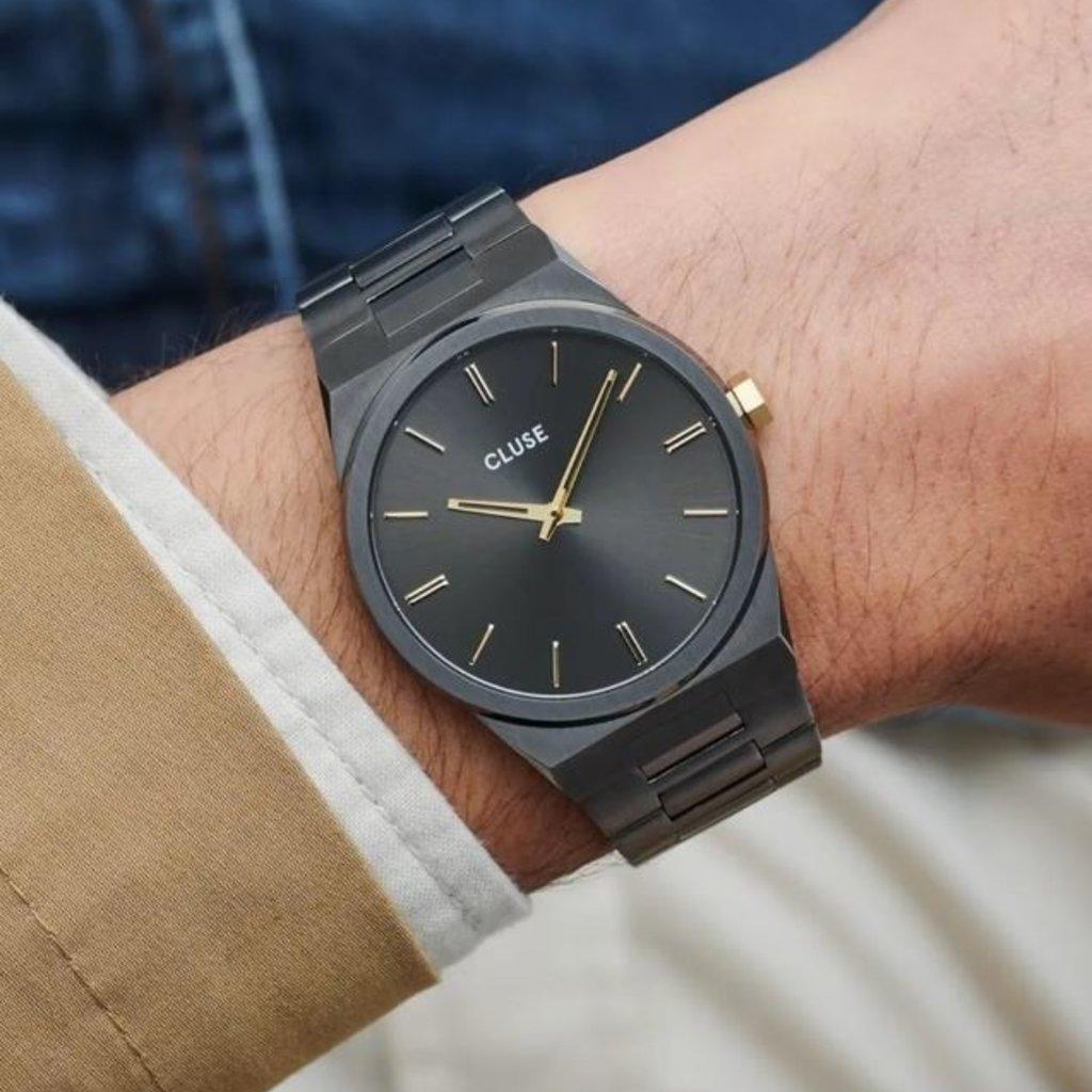 CLUSE CLUSE horloge Vigoureux Steel Dark Grey