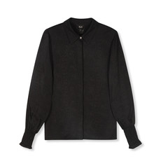 ALIX The Label ALIX The Label blouse Woven Animal Black