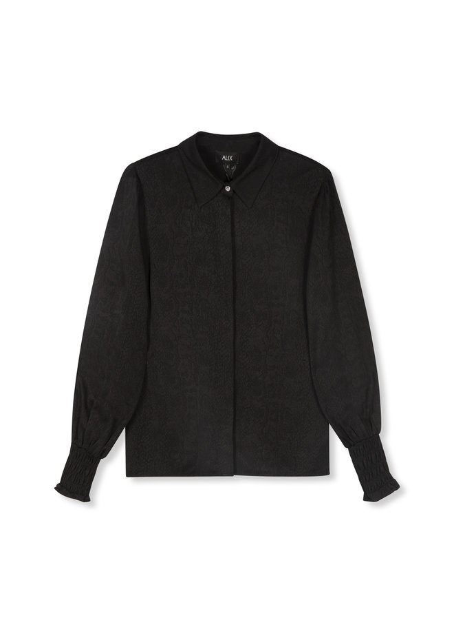 ALIX The Label blouse Woven Animal