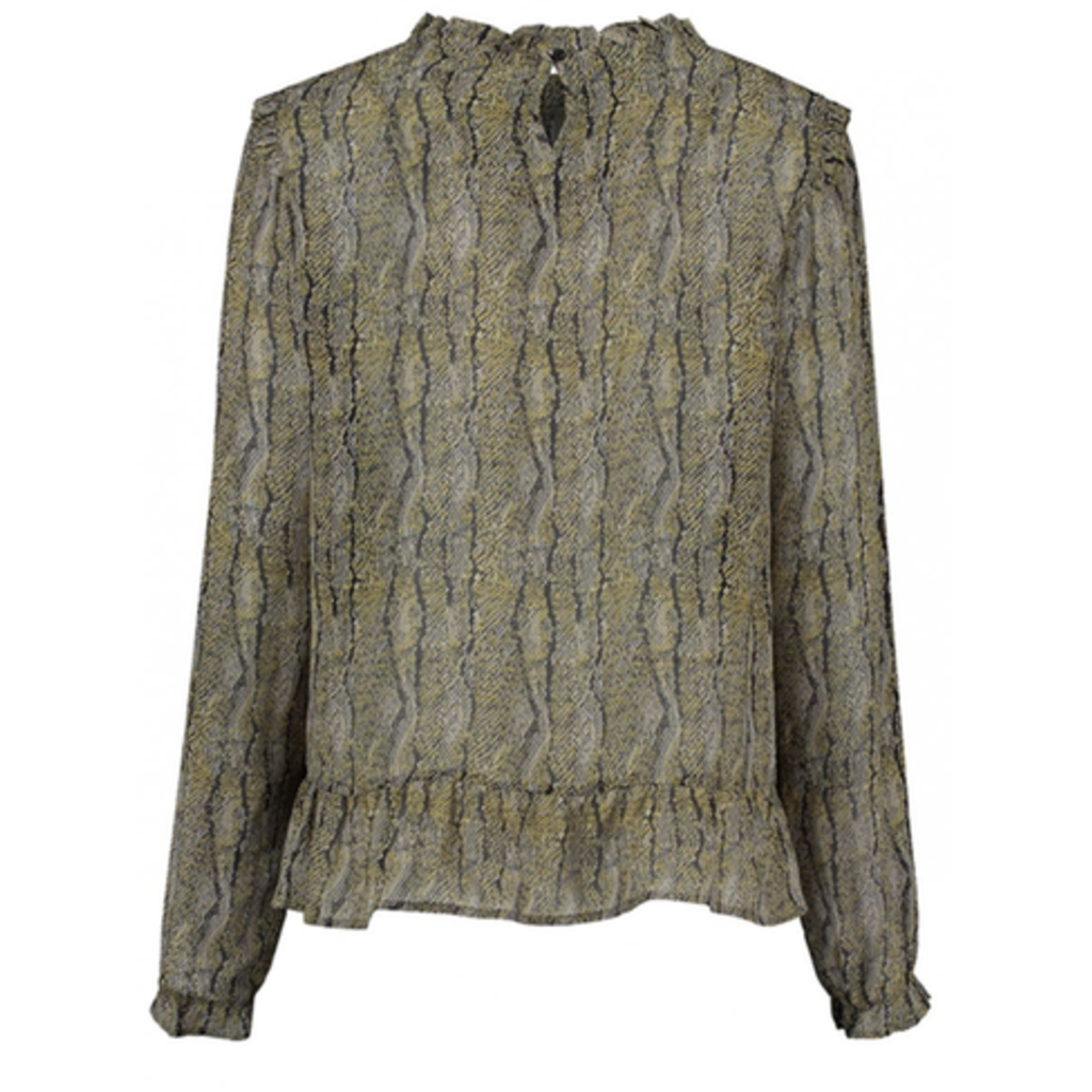 Circle of Trust Circle of Trust blouse Lilou Snake Print