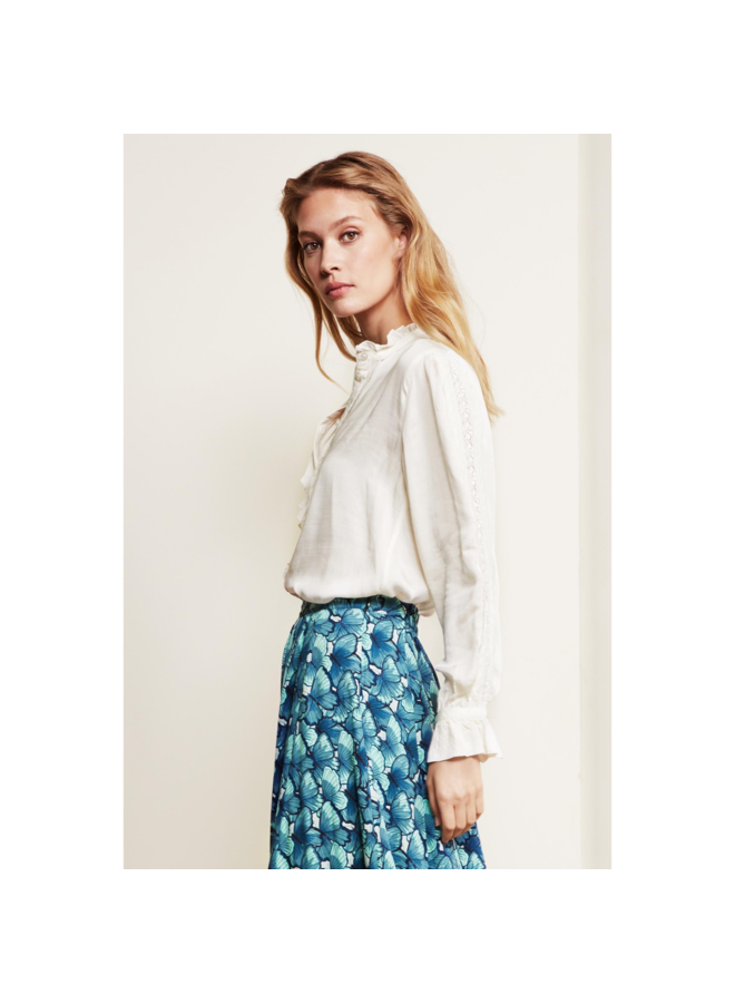 Fabienne Chapot blouse Mimi Cream White