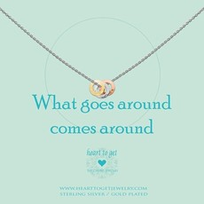Heart to Get Heart to Get ketting What Goes Around Silver