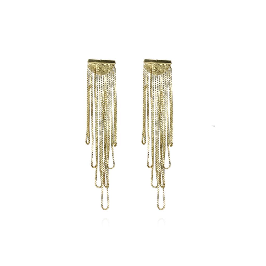 LOTT. Gioielli LOTT. Gioielli oorbellen Waterfall Gold Plated