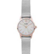 CLUSE CLUSE horloge La Vedette Silver/Rose Gold