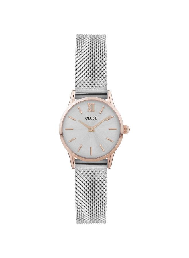 CLUSE horloge La Vedette Silver/Rose Gold