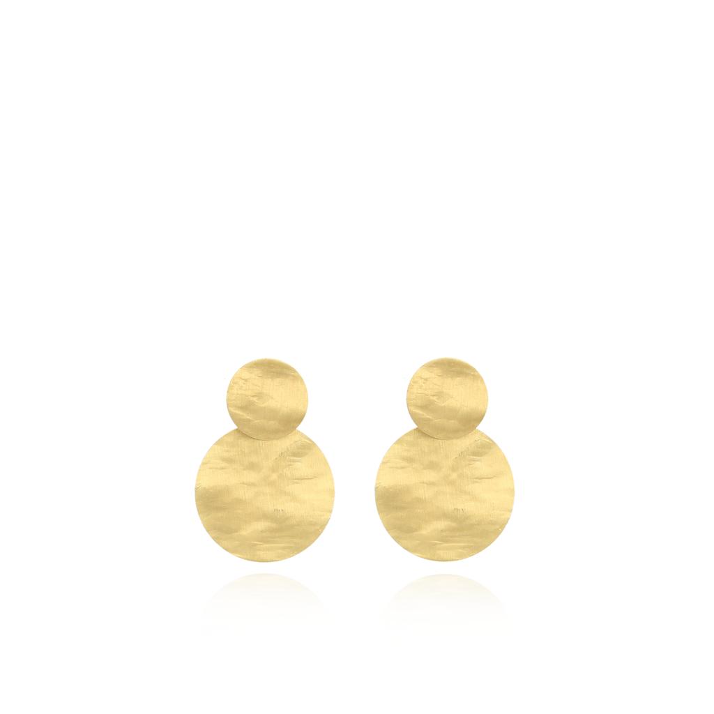 LOTT. Gioielli LOTT. Gioielli oorbellen Round Closed Medium - Gold