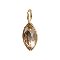 iXXXi Jewelry iXXXi Charm Royal Diamond Topaz Gold