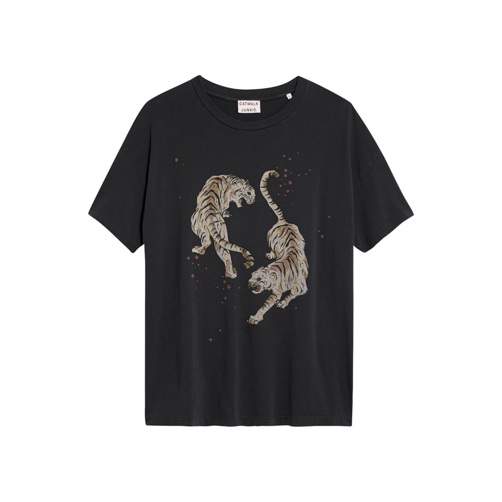 Catwalk Junkie Catwalk Junkie T-shirt Tigre Dark Grey
