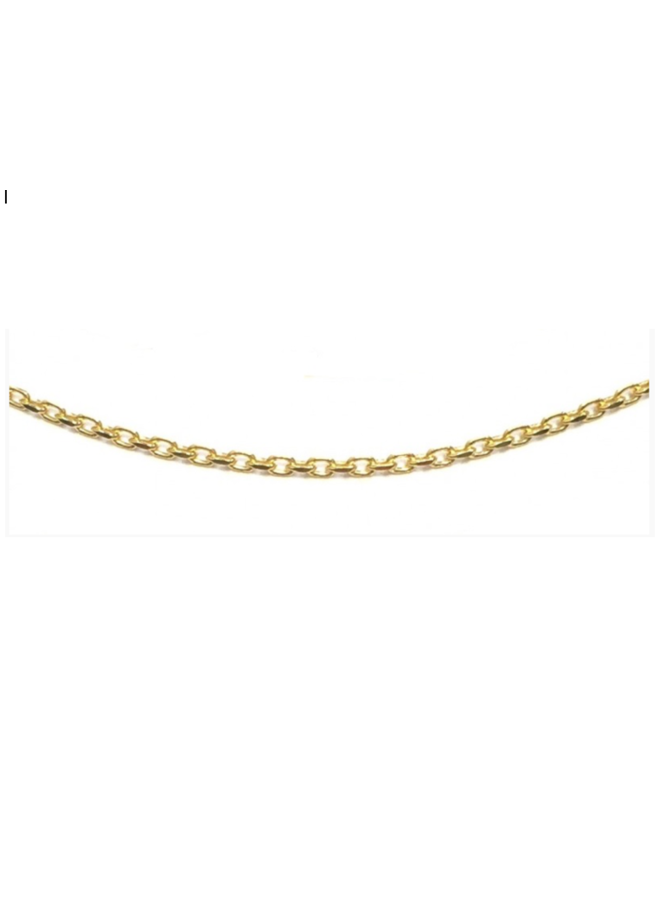 Imotionals ketting Anker Gold Plated