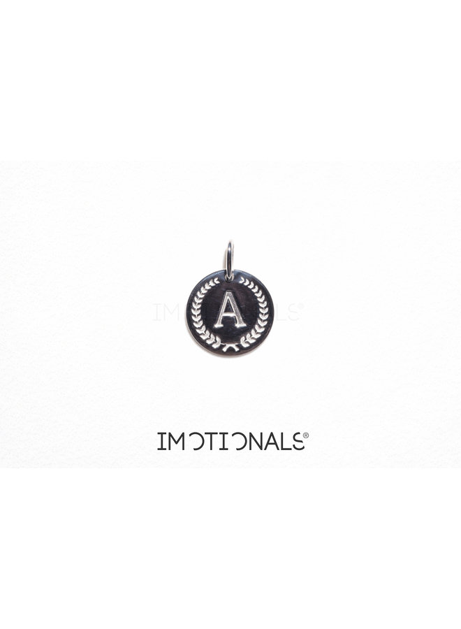 Imotionals Ibiza letter A-Z Silver