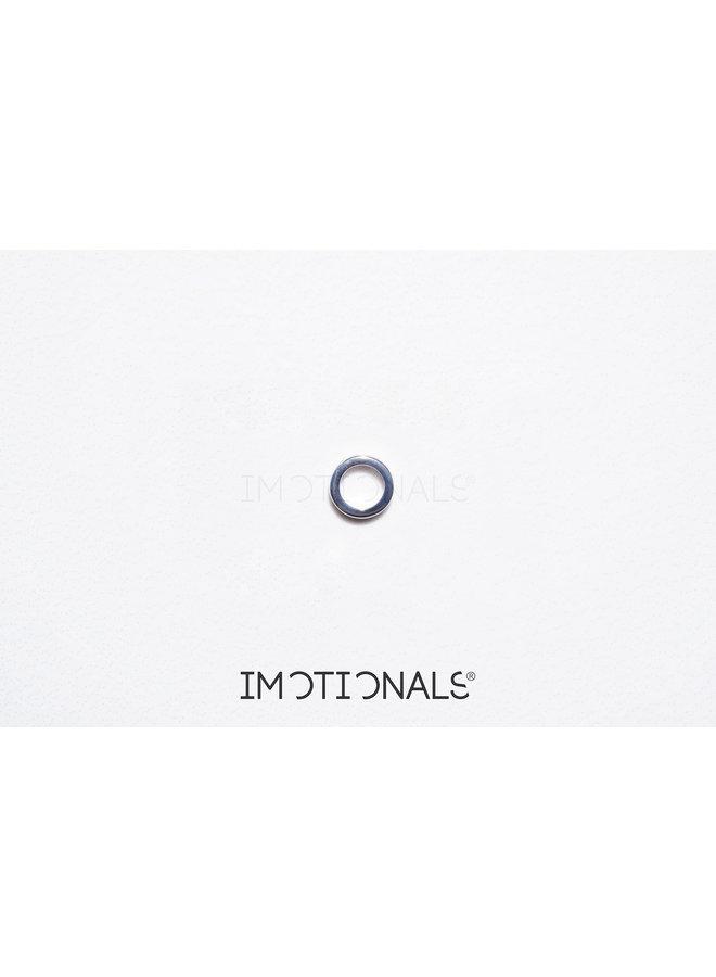 Imotionals Symbol hanger 22 Cirkel Silver