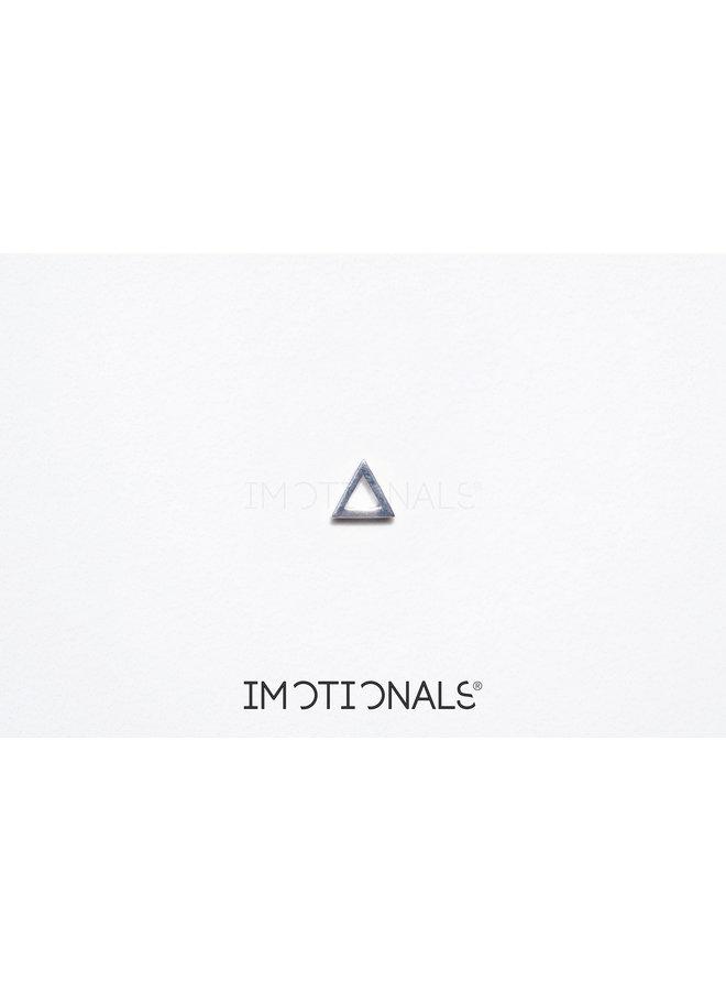 Imotionals Symbol hanger 23 Driehoek Silver