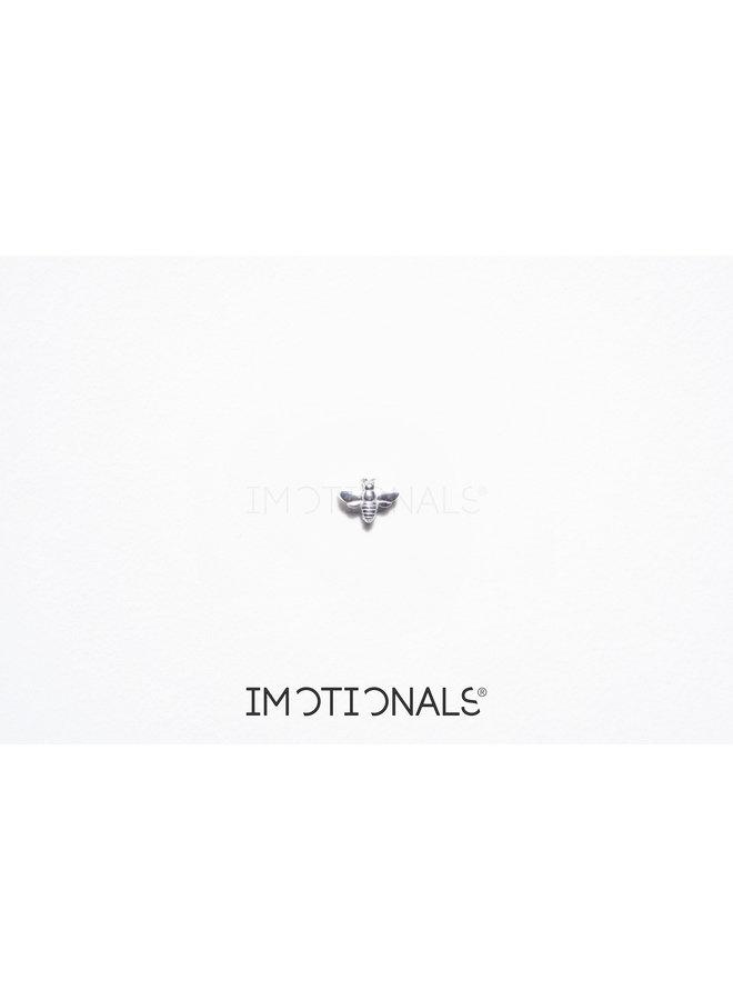 Imotionals Symbol hanger 73 Bij Silver