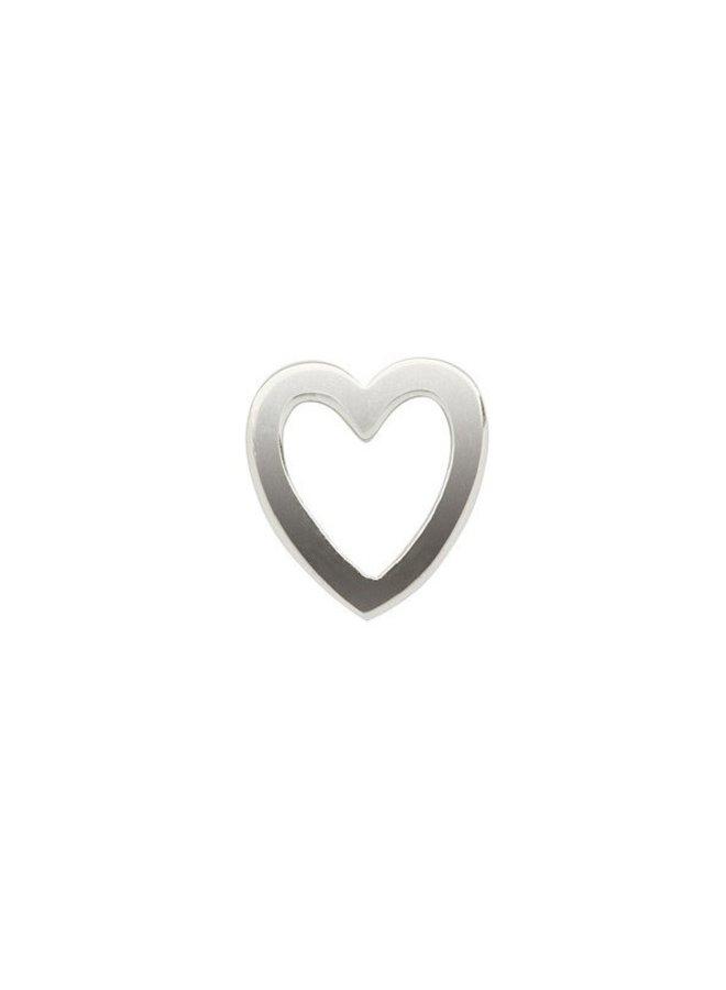 Imotionals Symbol hanger 38 Hart Open Silver