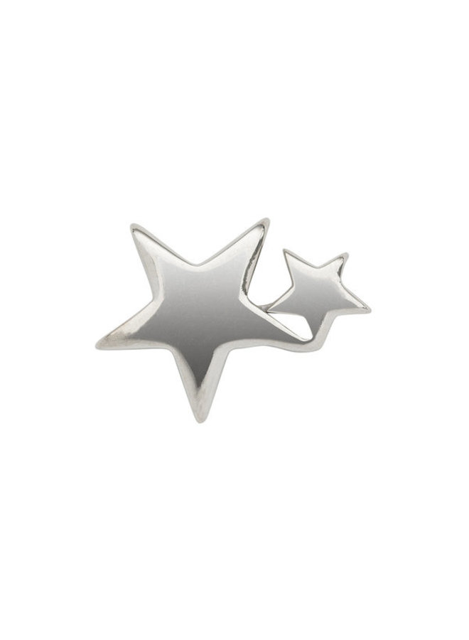 Imotionals Symbol hanger 29 Dubbele Ster Silver