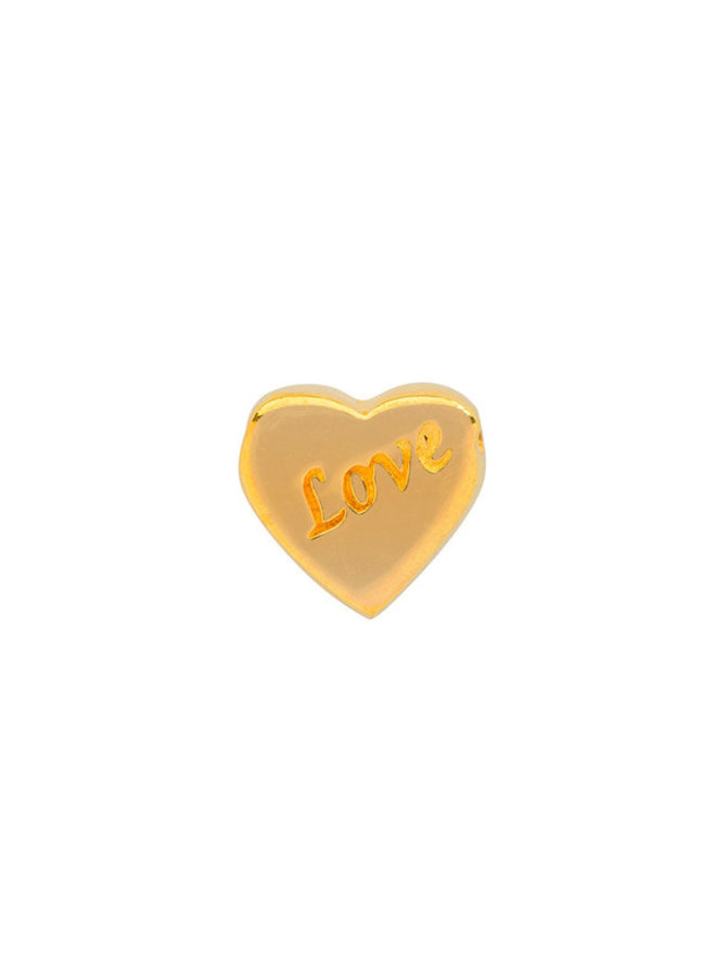 Imotionals Symbol hanger 10 Hart Love Gold Plated