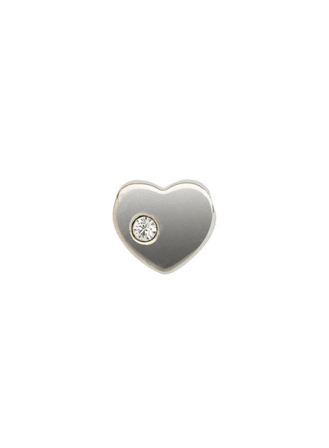 Imotionals Symbol hanger 6 Hart 1 Steen Silver